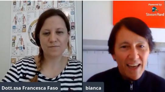 La Dott.ssa Francesca Faso intervista Biancamaria Folino