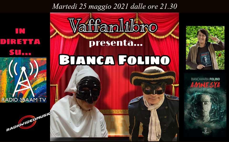 RAdio Sbam Tv intervista Bianca Folino